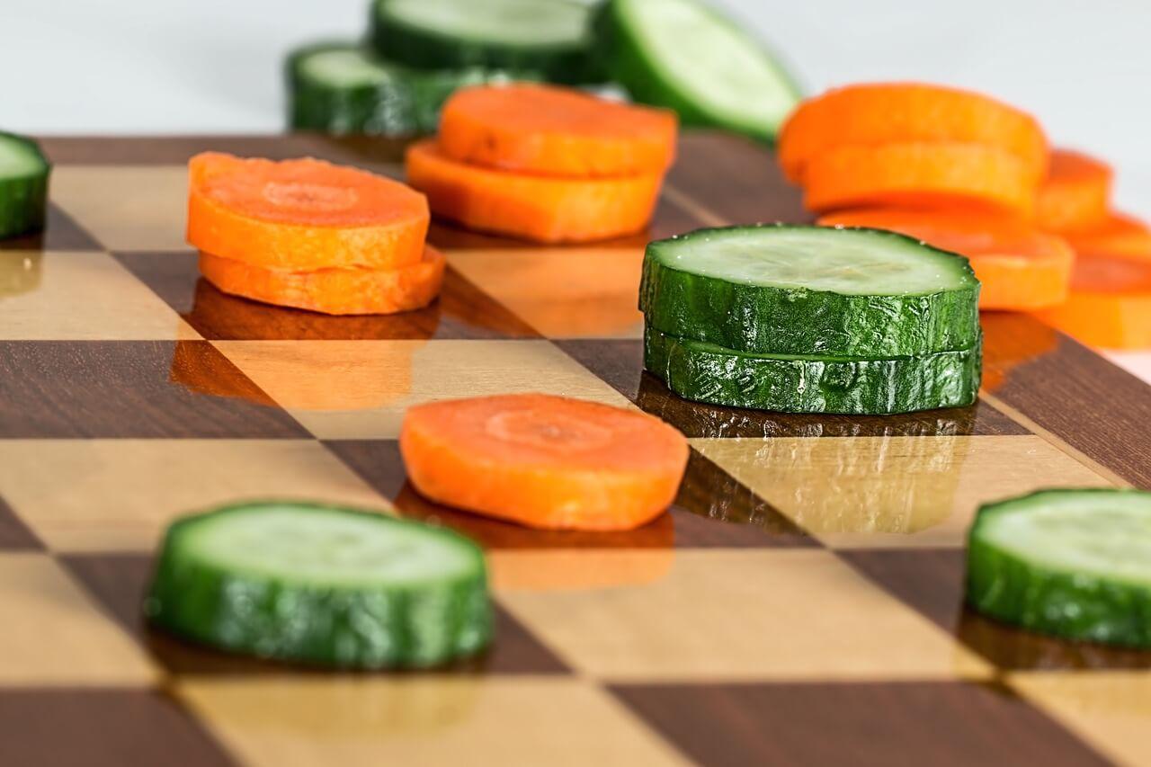 תזונה נכונה, כושר ושאר ירקות